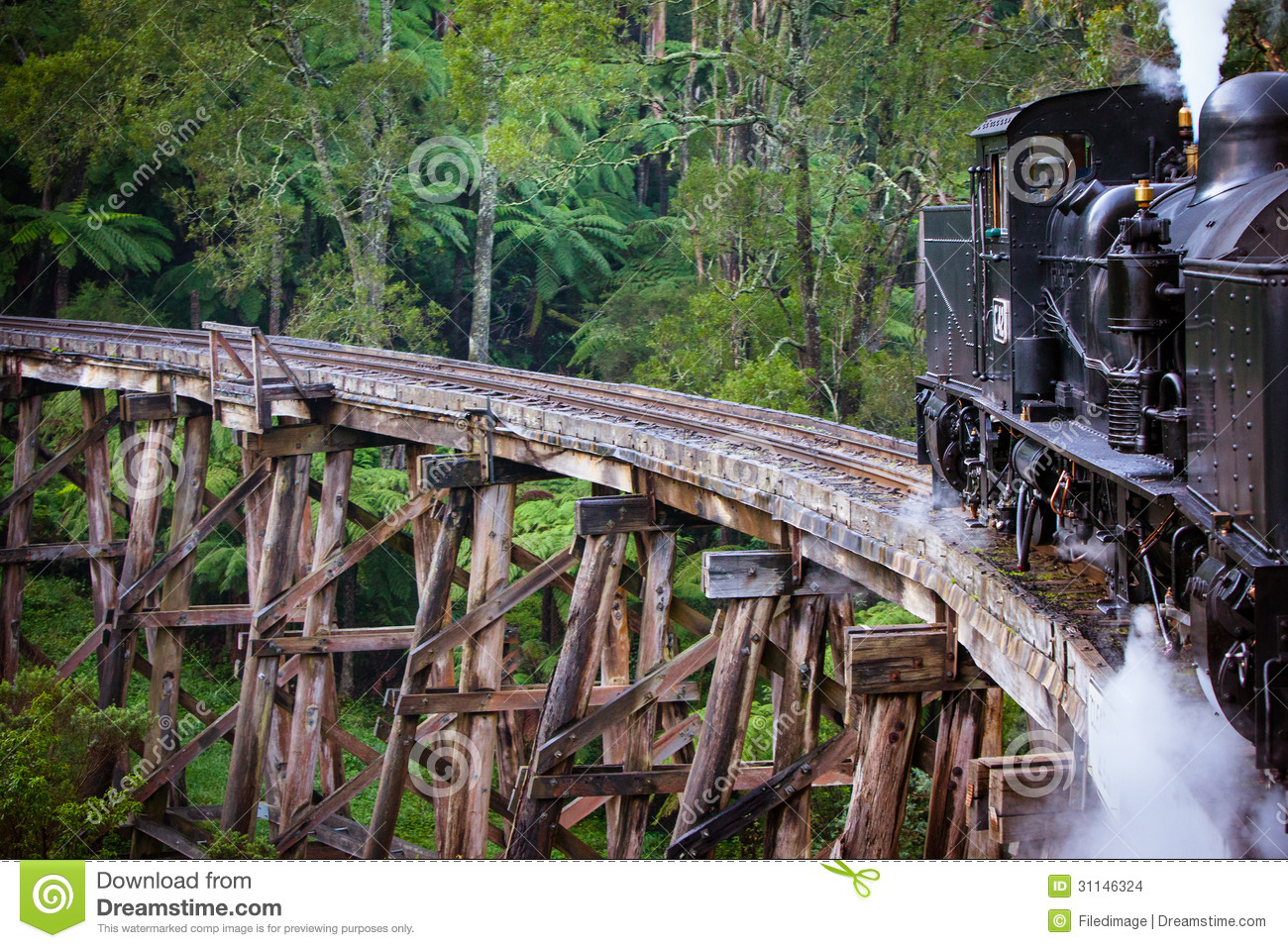 how to go puffing billy by train
