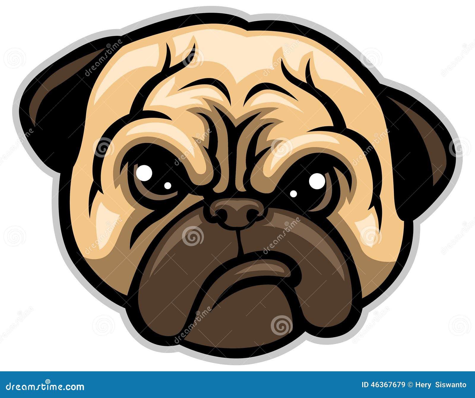 pug-dog-head-vector-46367679 jpgDog Head Vector