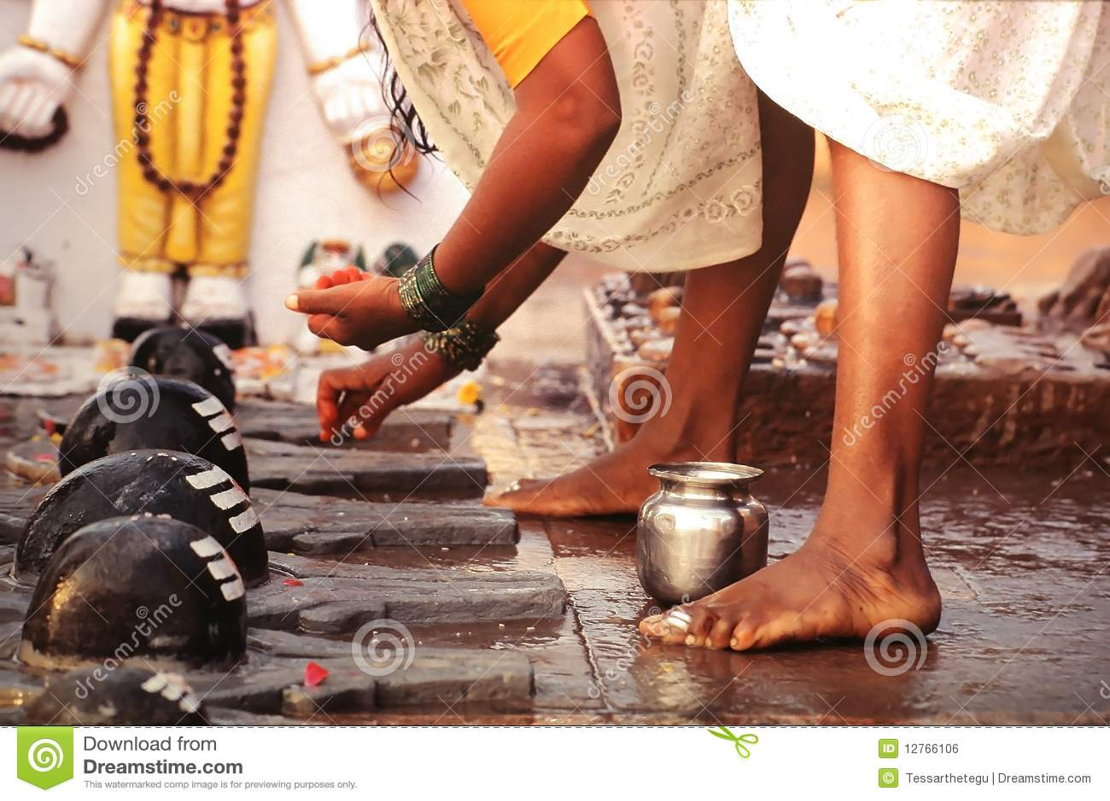 Puja rytuał Varanasi