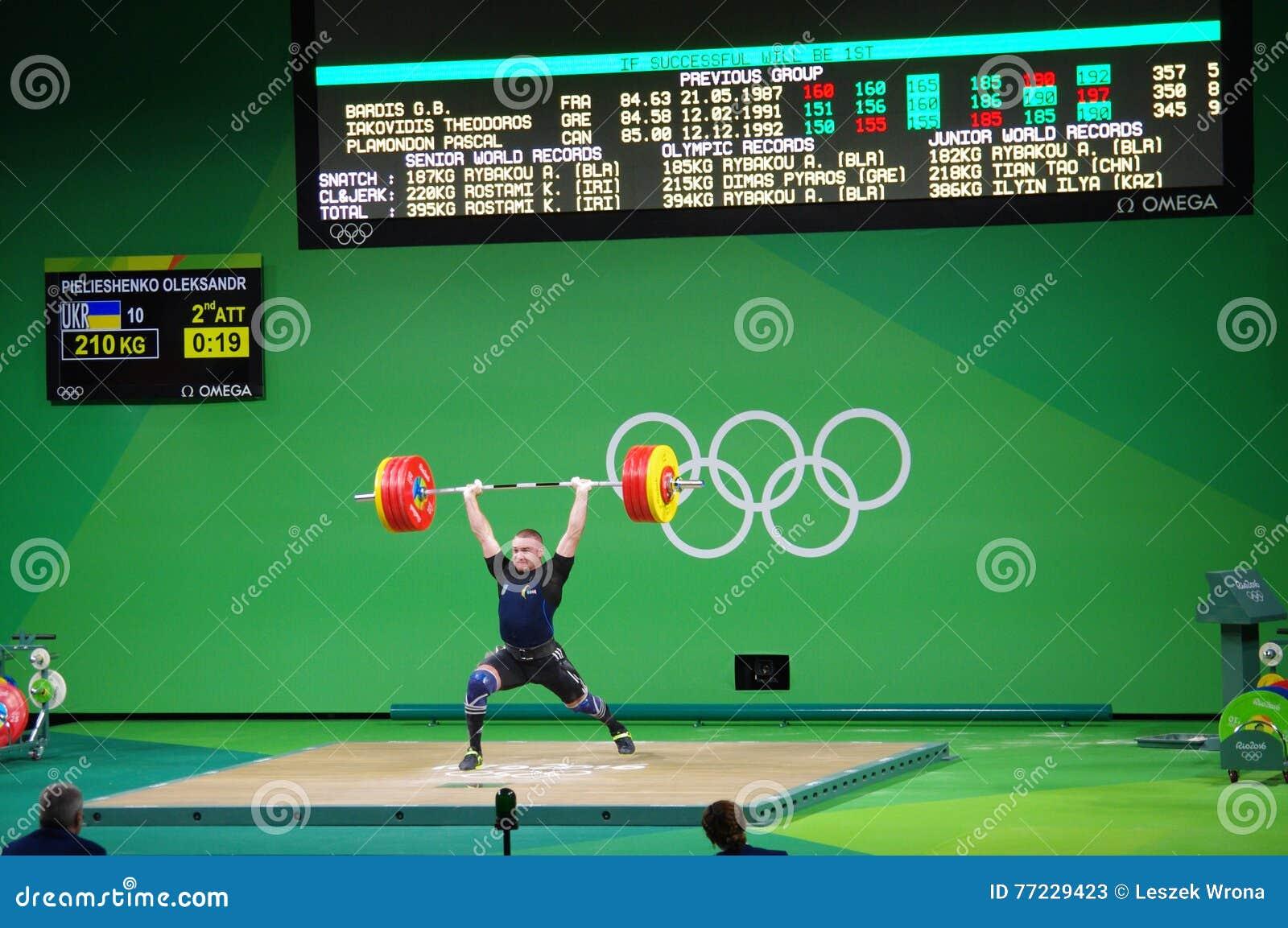 Pulisca - e - lo scatto da Oleksandr Pielieshenko a Rio2016