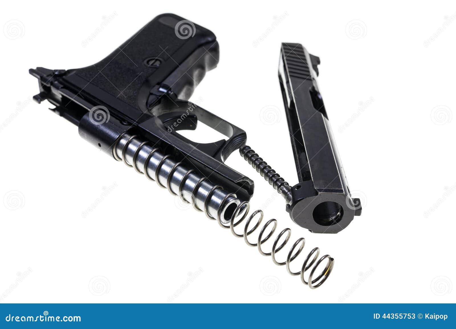 Pulizia della pistola