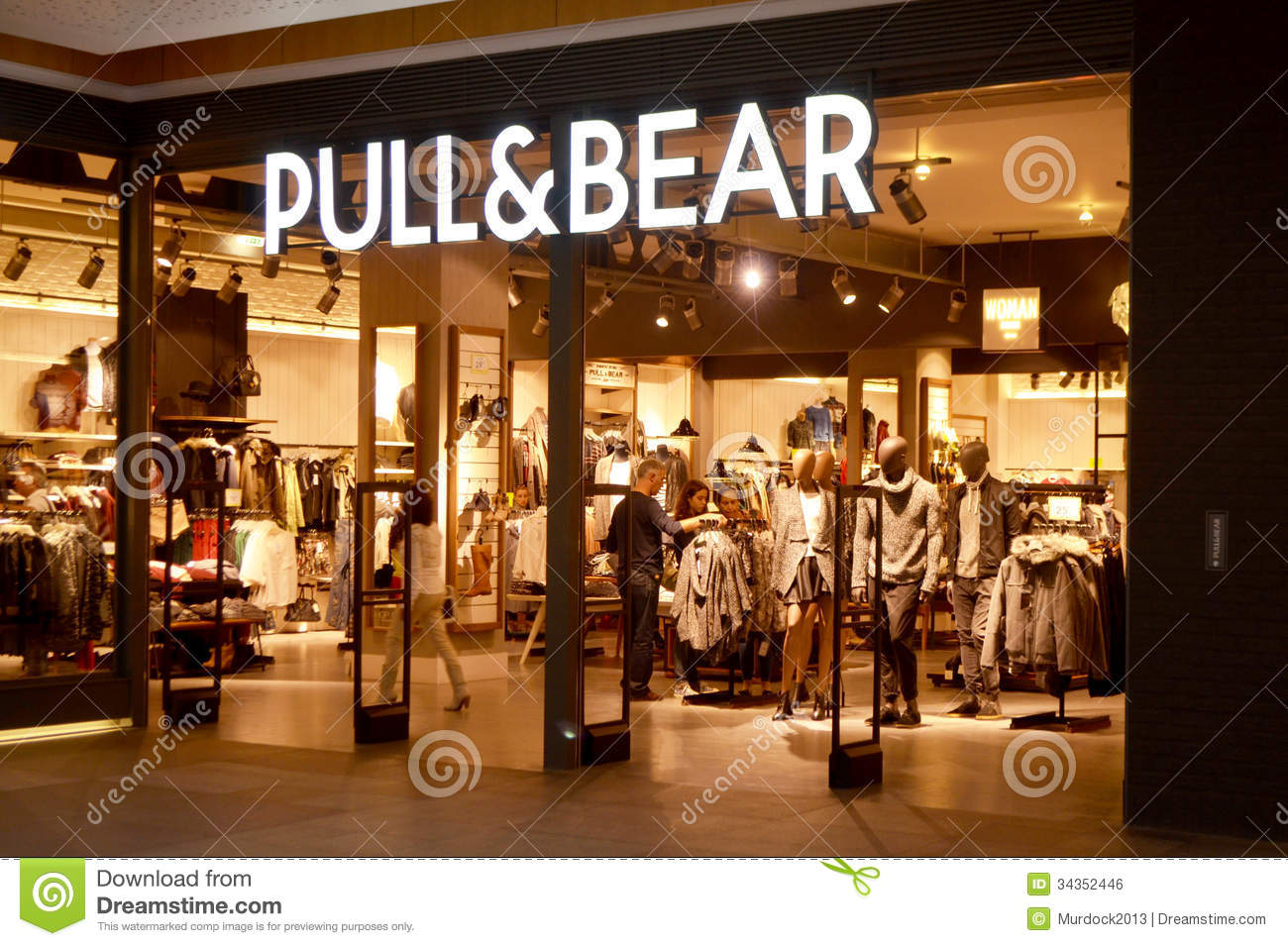 Black bear clothing store