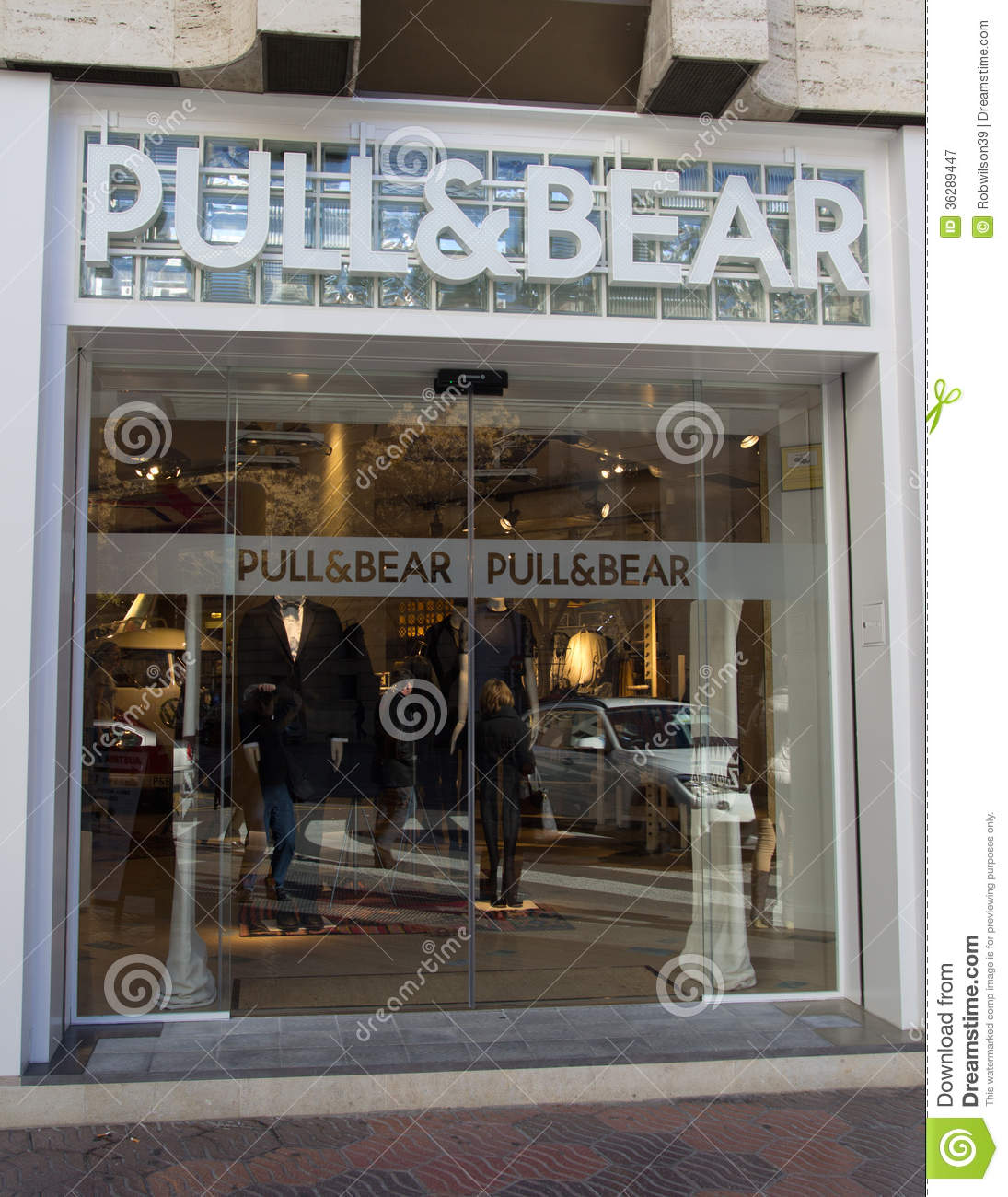 Pull Amp Bear Editorial Photography Image Of Market Door