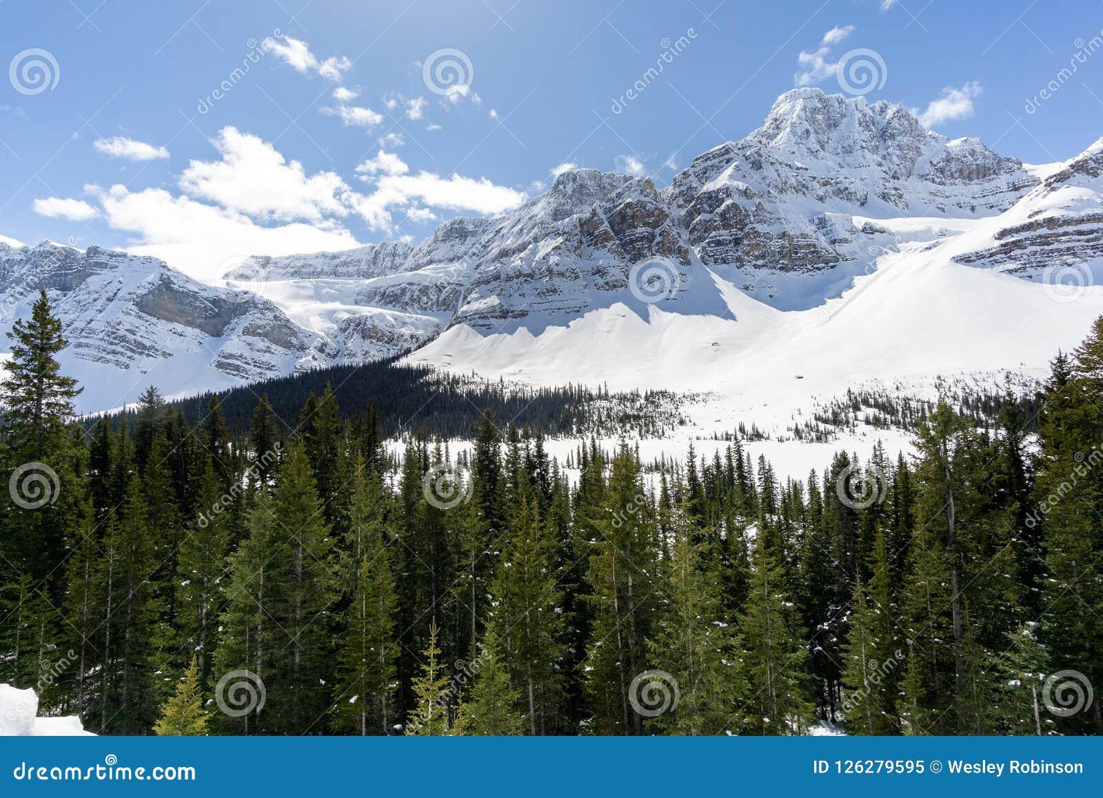 Crowfoot Glacier Pull Off 02