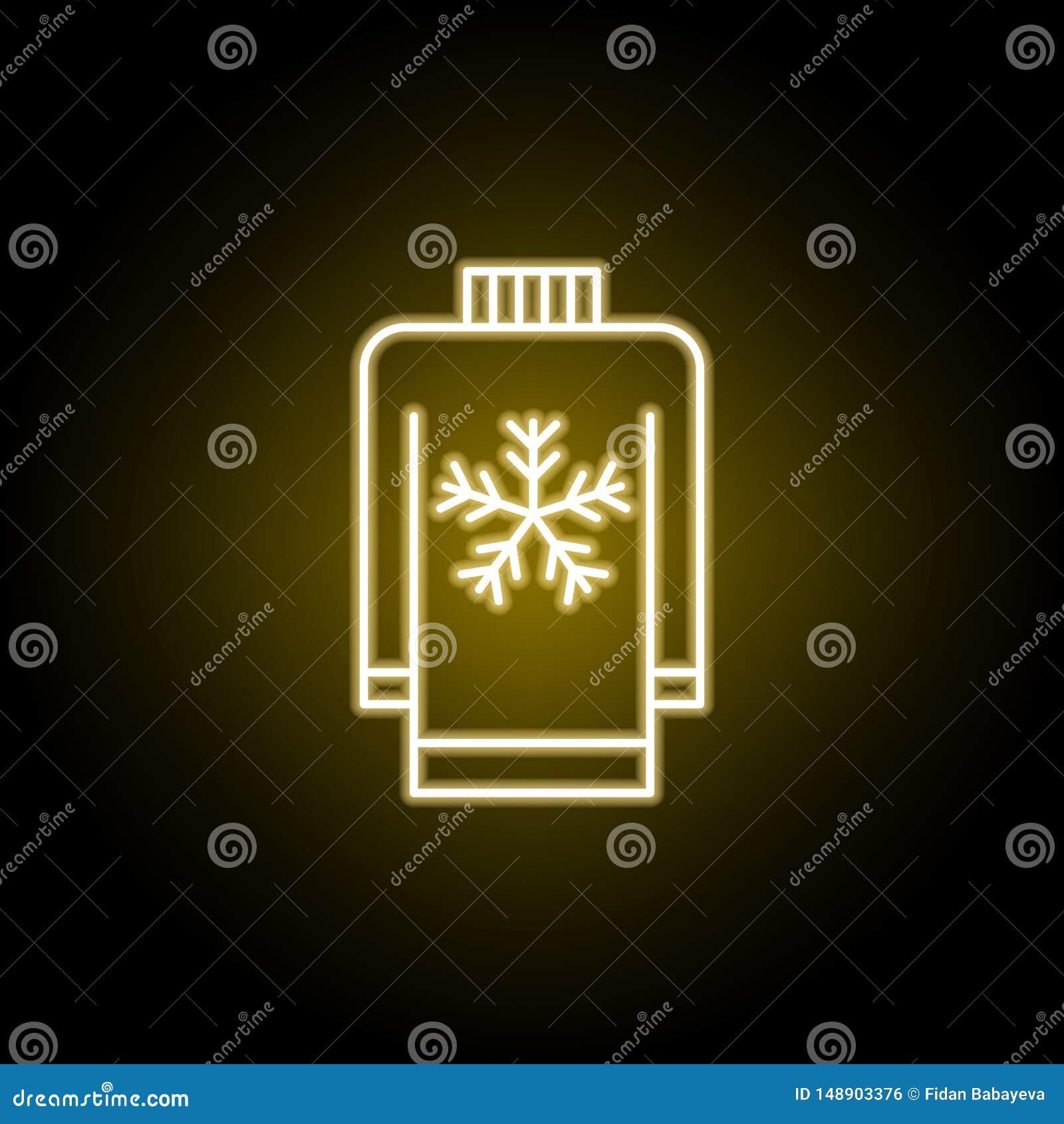 Pulower ikona w neonowym stylu Znaki i symbole mog? u?ywa? dla sieci, logo, mobilny app, UI, UX