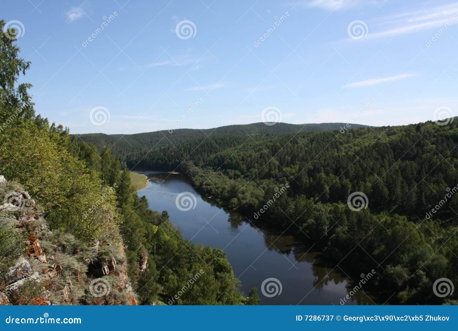 Pulse en el río con alturas