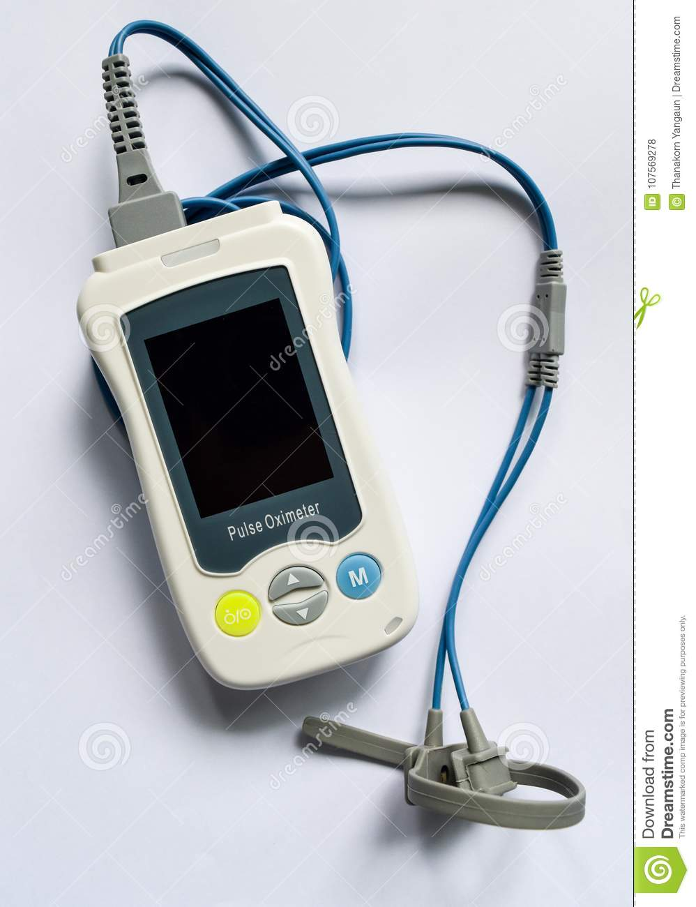 Pulse Oximeter, Medical Device Used To Monitor Blood Oxygen