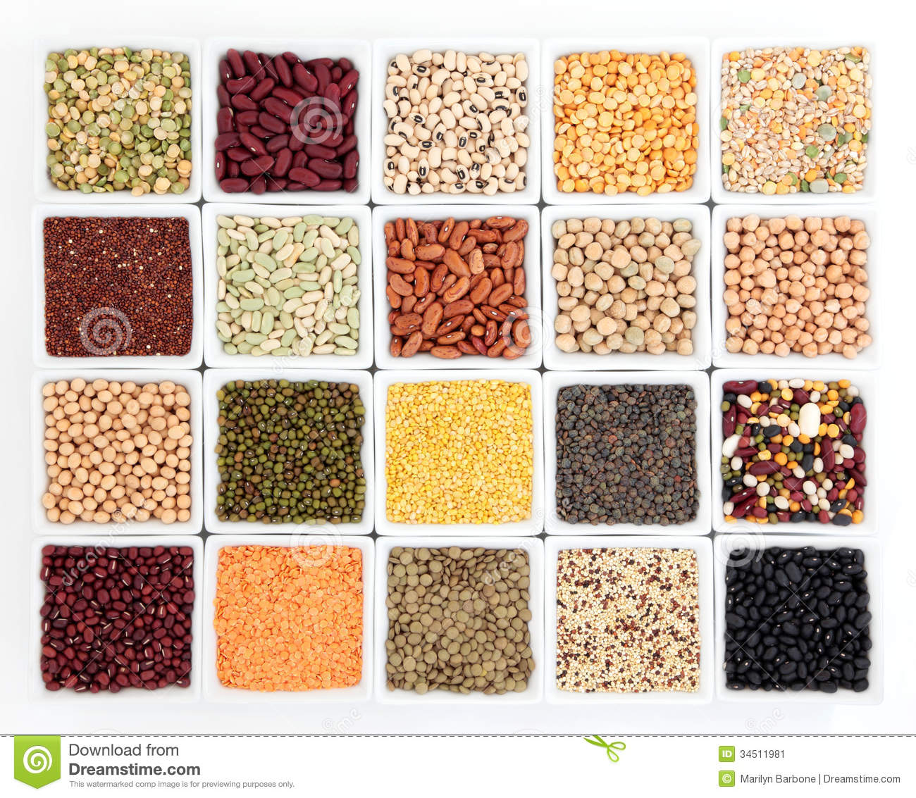 Kids Stock A Wide Selection Of Luxury Premium Cotton: Pulses Health Food Stock Image
