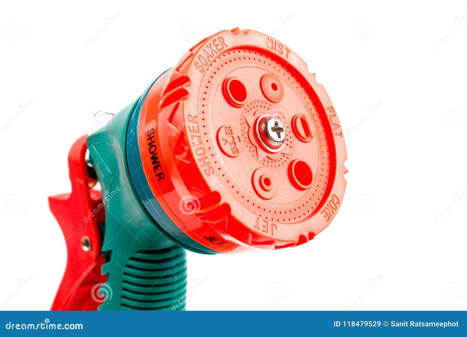 Pulvérisateur de arrosage en plastique vert de tuyau d arrosage