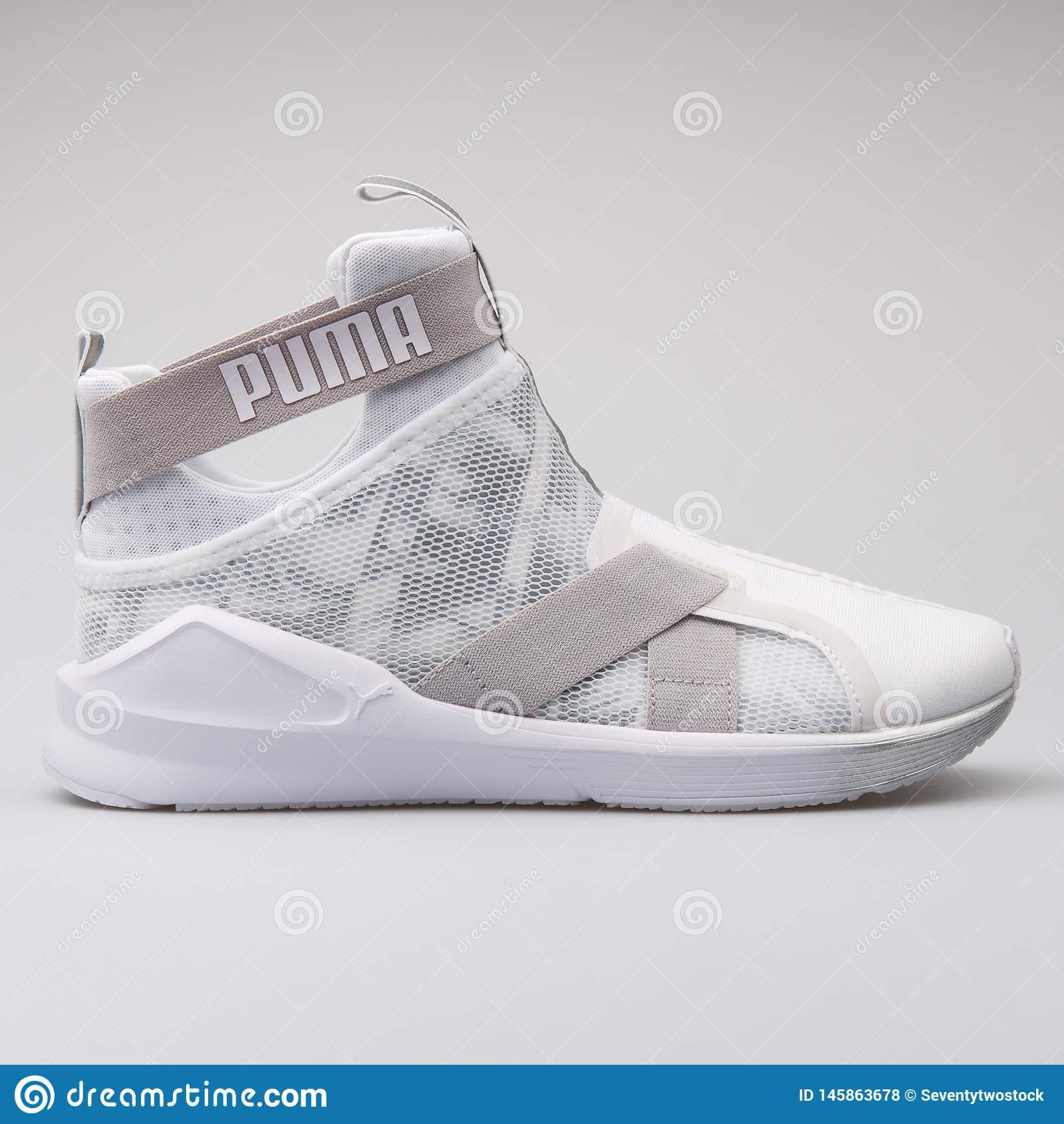 Puma Fierce Strap Swan White Sneaker