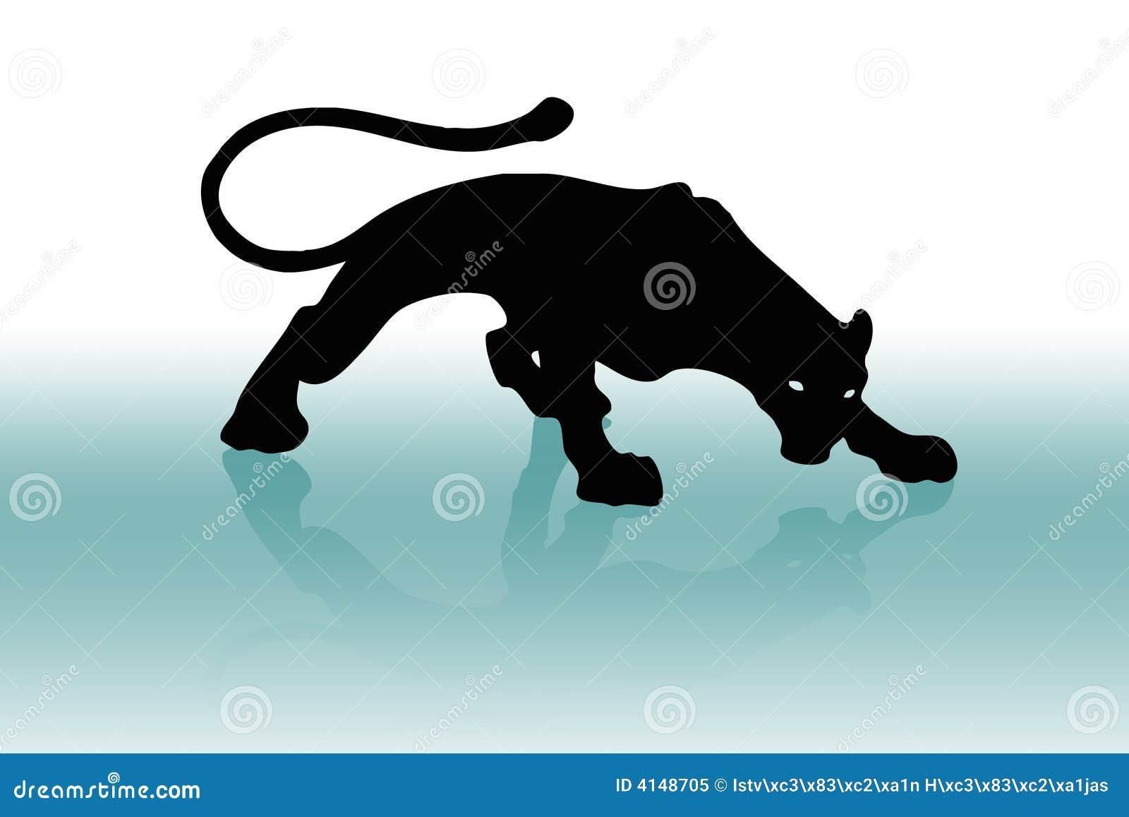 logo puma noir