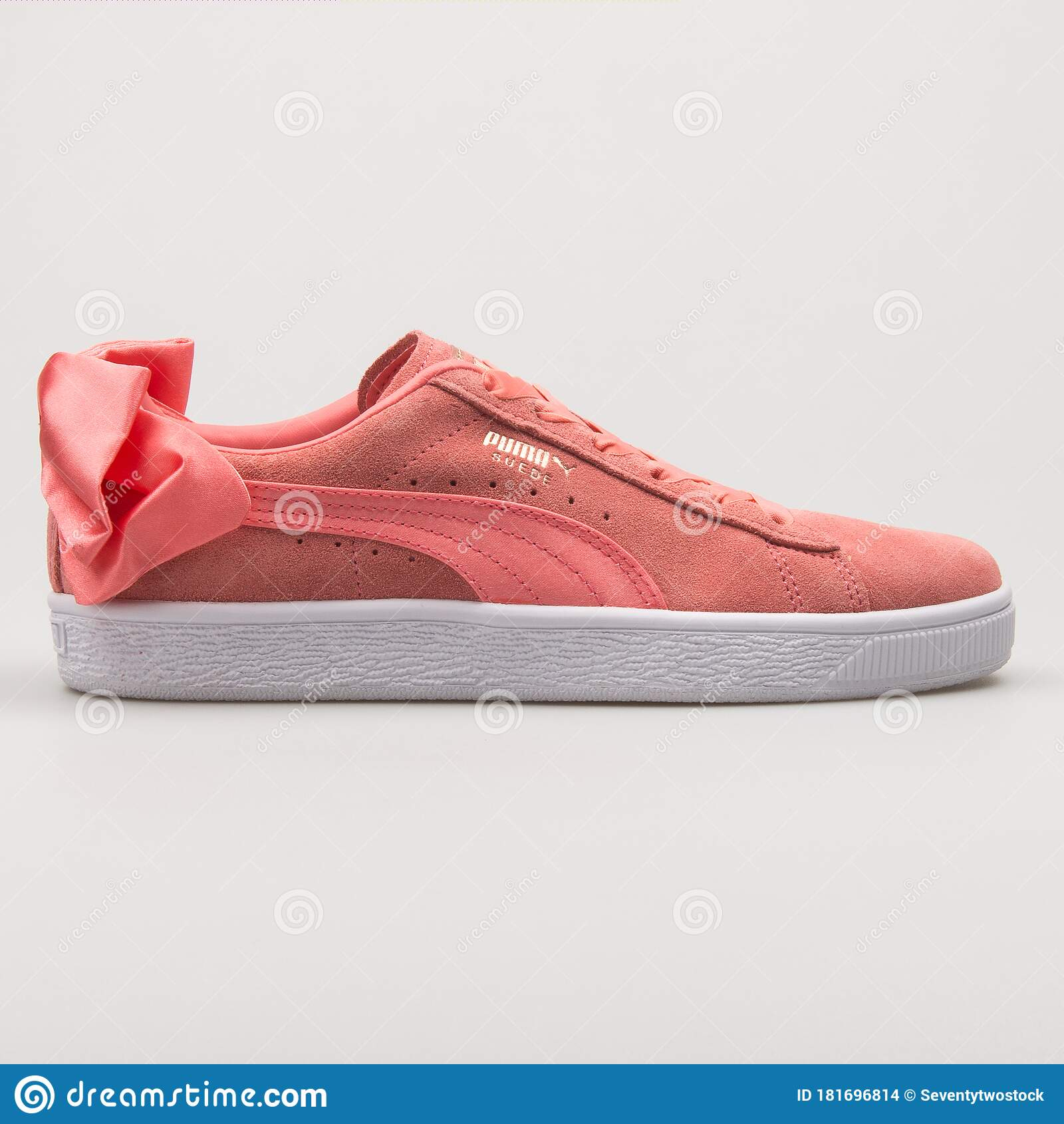 Puma Suede Bow AC Pink Sneaker