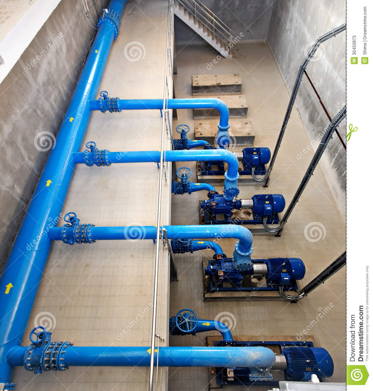 Pumping Station Stock Photos Image 30450873
