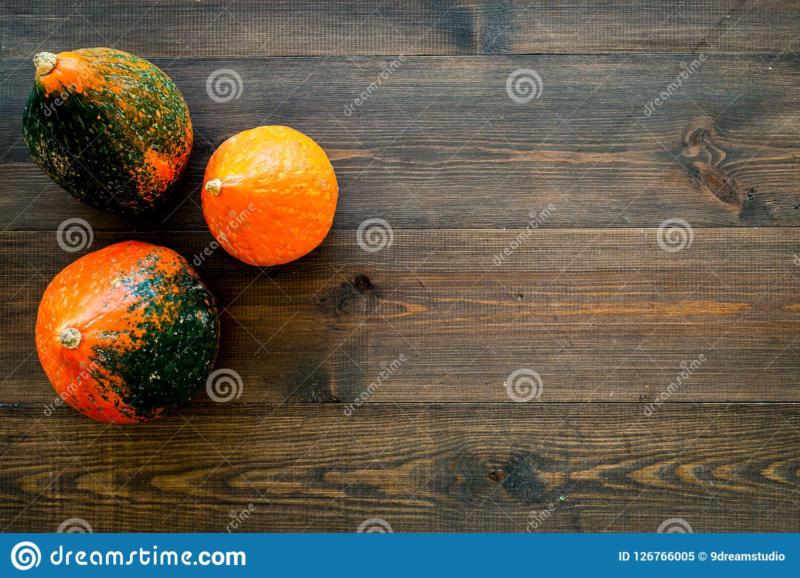 Pumpkin Background For Halloween Autumn Symbol Fall