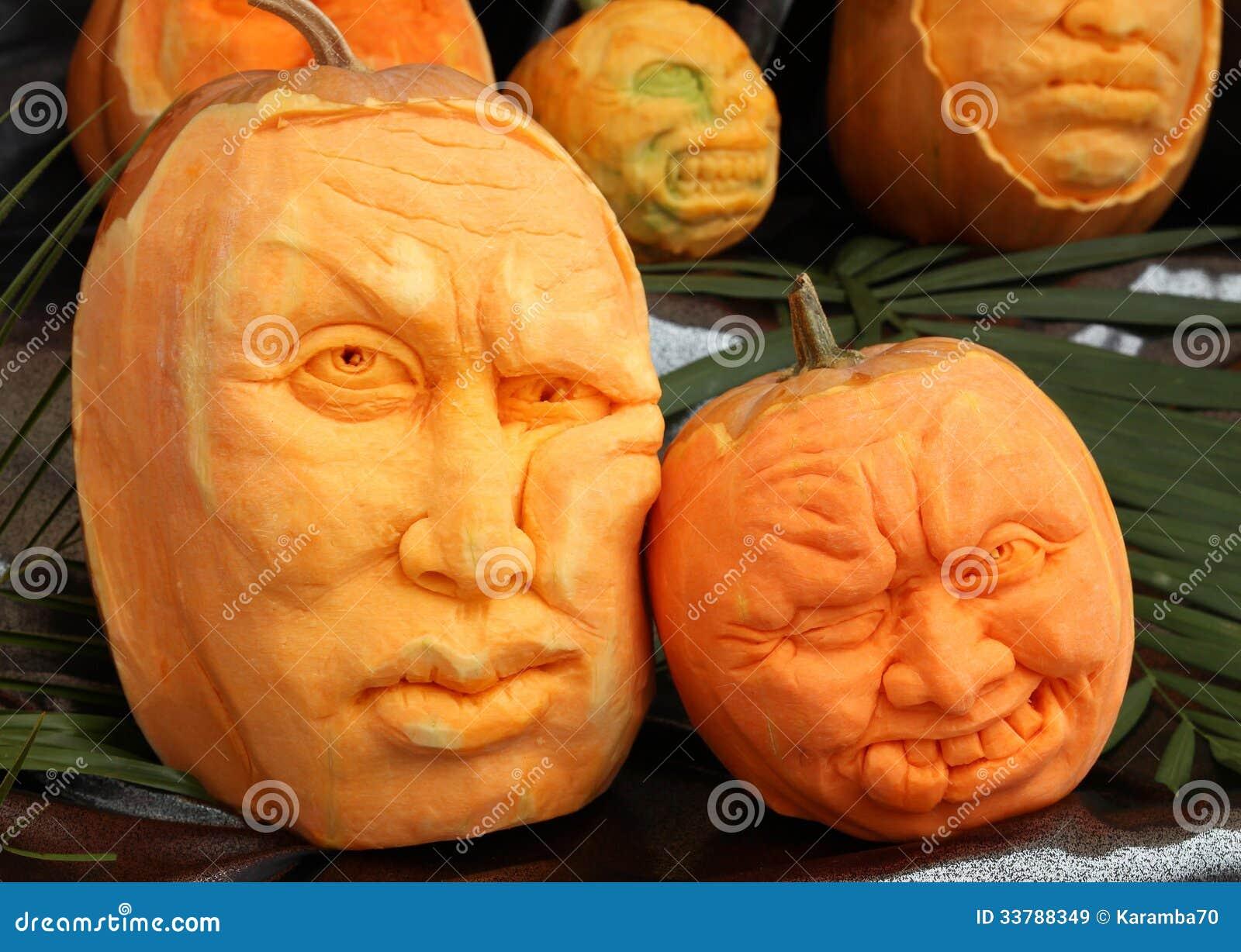 pumpkin carving royalty free stock images image 33788349. Black Bedroom Furniture Sets. Home Design Ideas