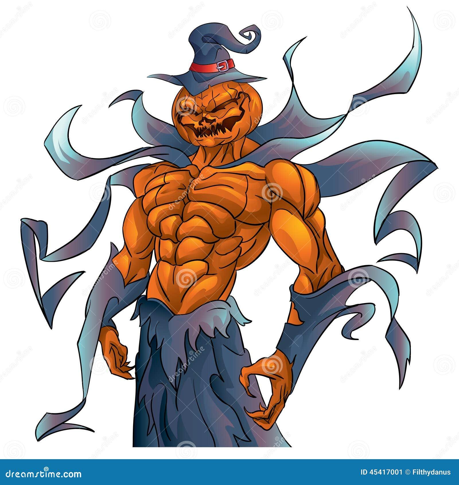 pumpkin demon halloween stock vector image of halloween Halloween Candy Clip Art All Halloween Pictures Clip Art