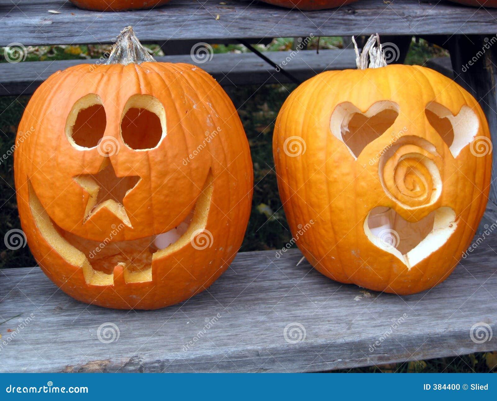 Pumpkin Faces Stock Photo Image 384400
