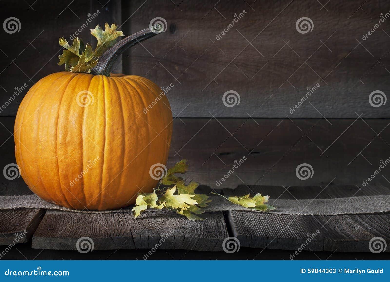 Pumpkin Fall Leaves