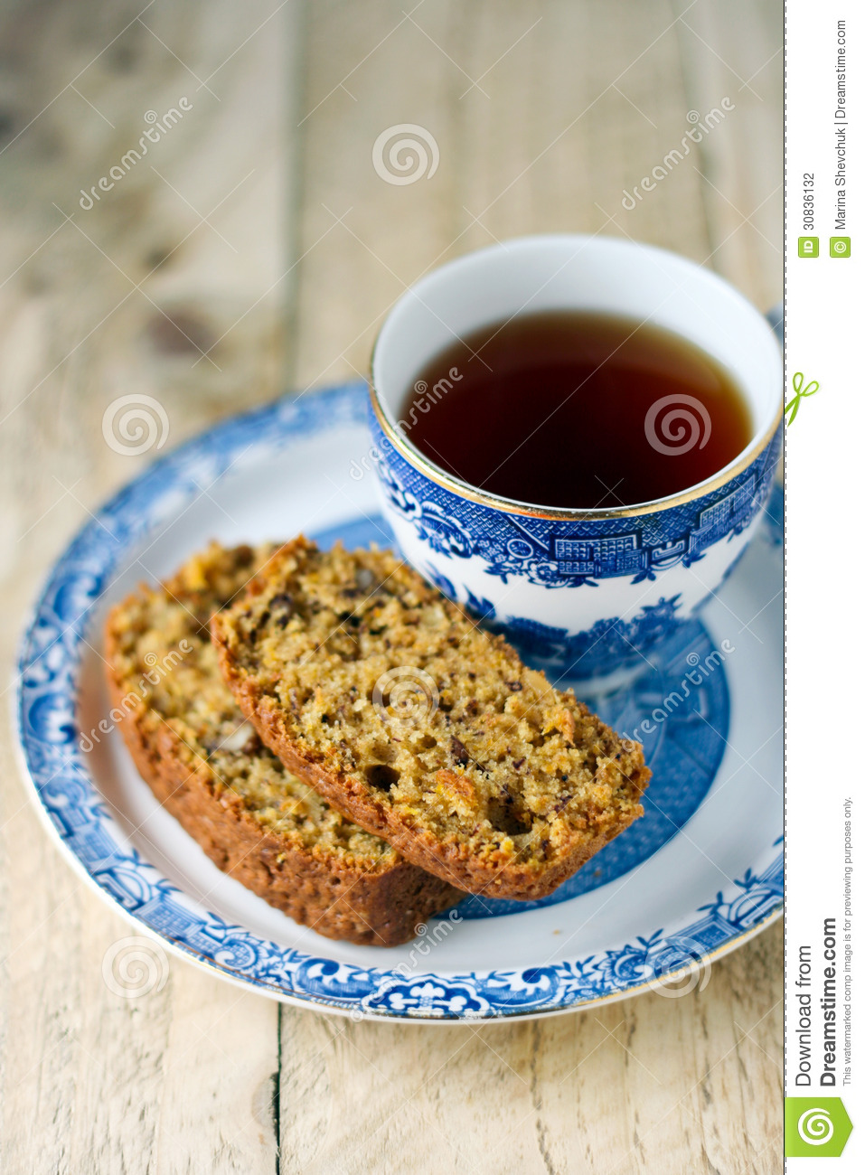 Pumpkin And Nut Cake Stock Photography - Image: 30836132