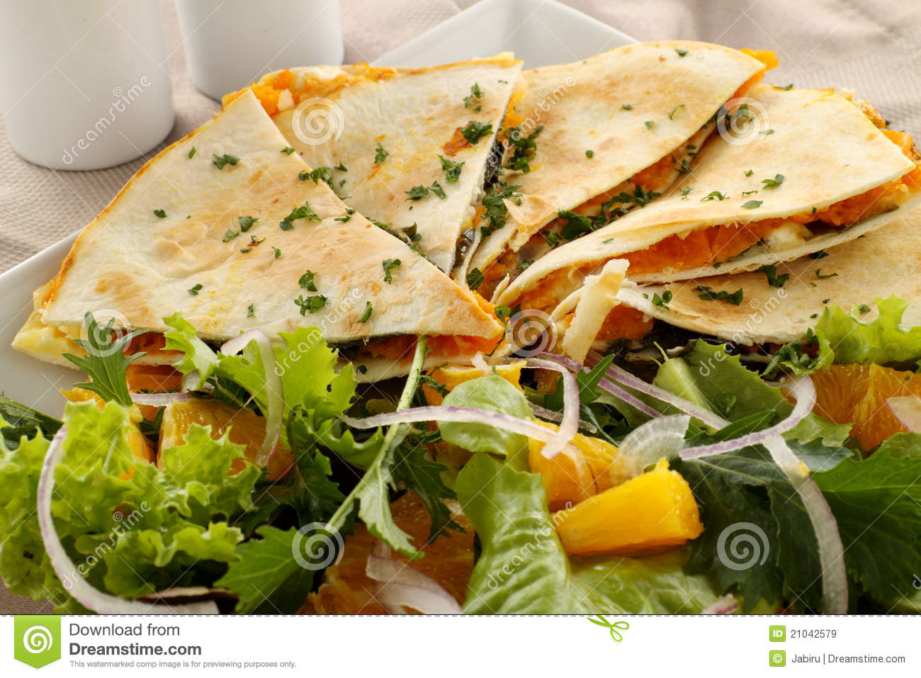 Pumpkin Quesadilla Royalty Free Stock Images - Image: 21042579
