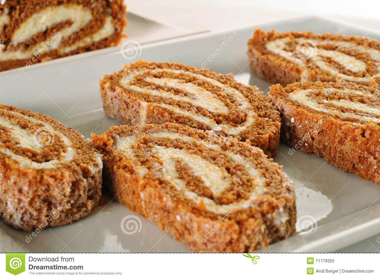 Pumpkin Roll Upclose Royalty Free Stock Photo - Image ...