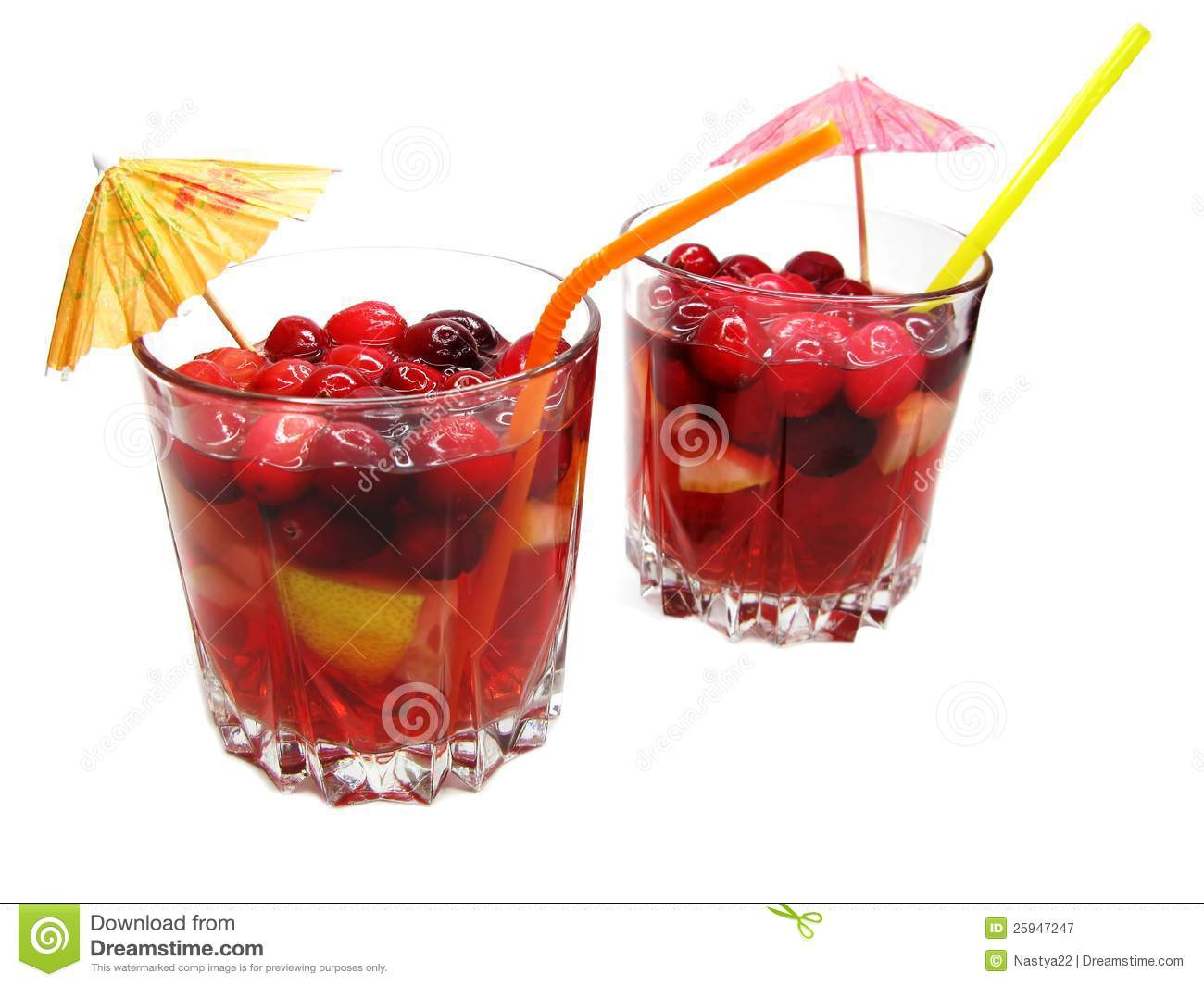 cocktail drink fruit punch - photo #14