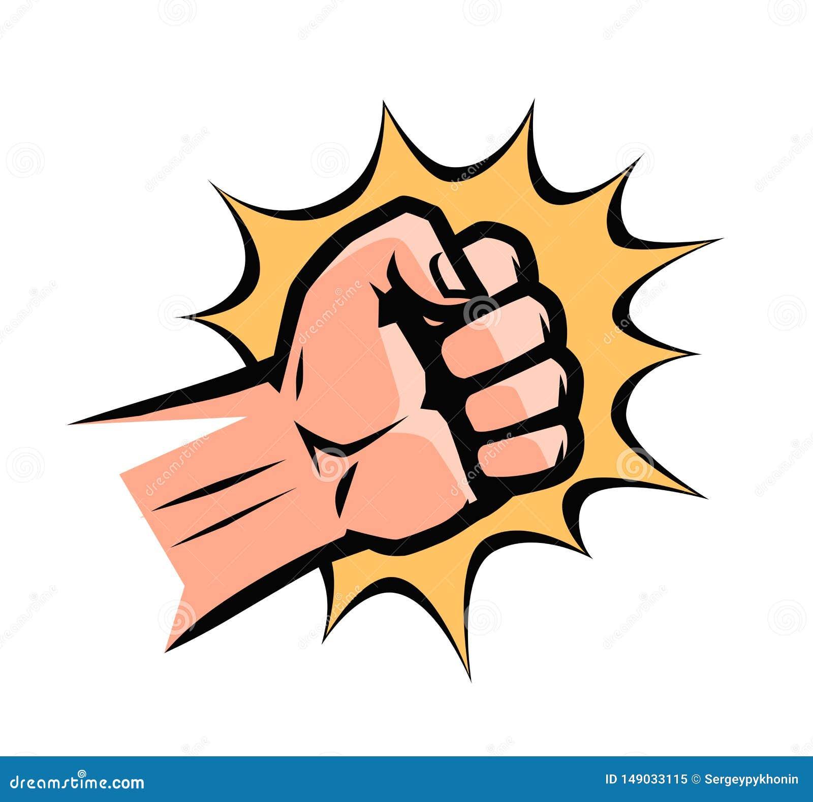 Cartoon Fist Punch Stock Illustrations 2 487 Cartoon Fist Punch Stock Illustrations Vectors Clipart Dreamstime