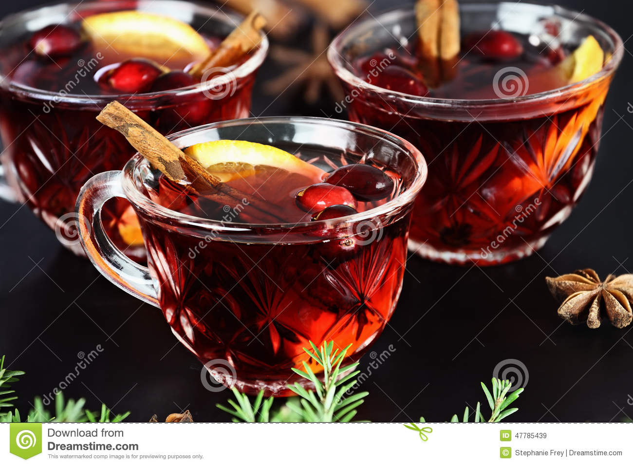 Punch stock image image of cocktail fruit gourmet for Spiced cranberry sauce with orange and star anise