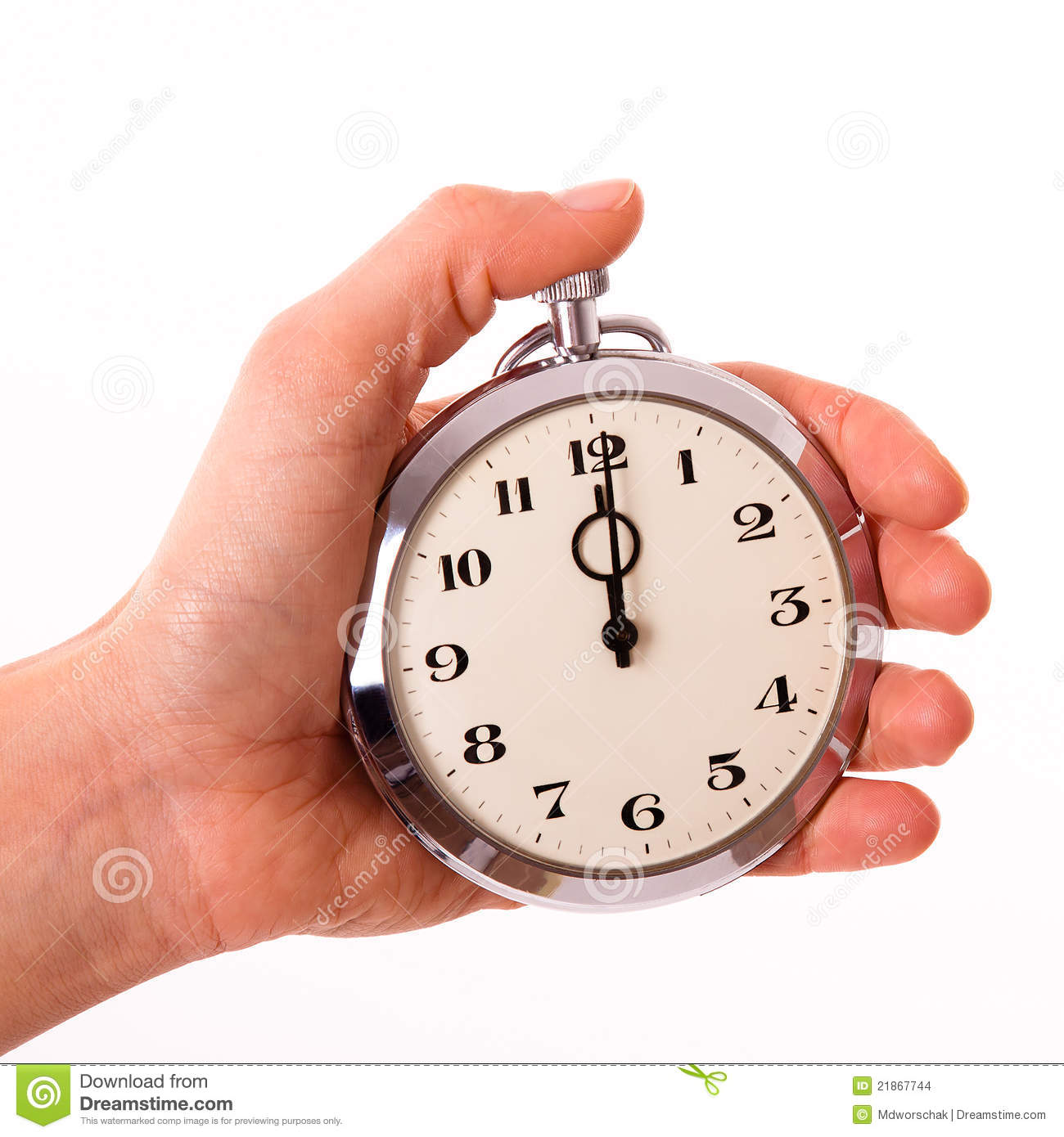 Punctuality Stock Images - Image: 21867744