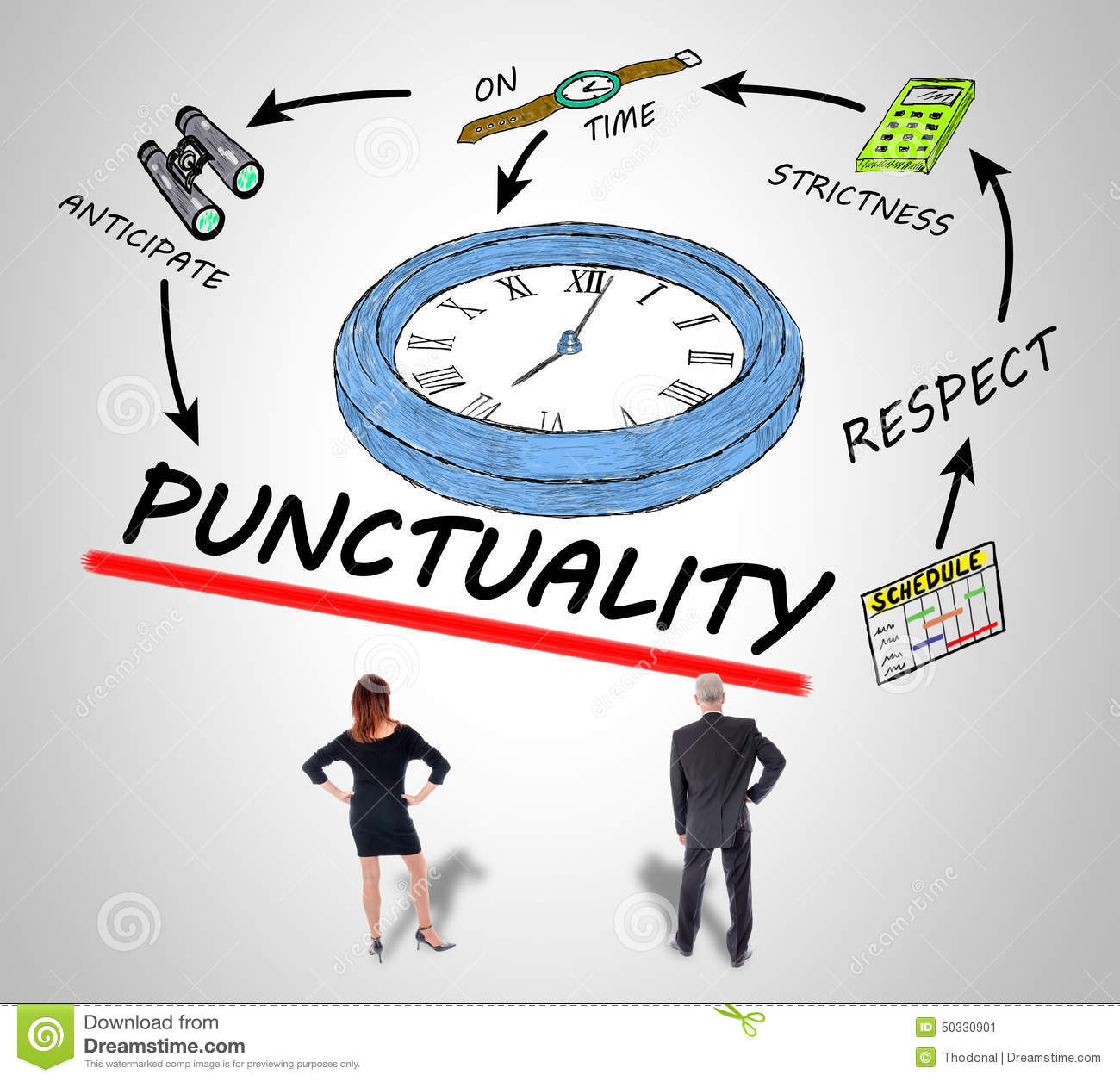 punctuality in the workplace It can be easy to take a narrow view on the concept of time and think that all  cultures value punctuality in the workplace and strict deadlines like.