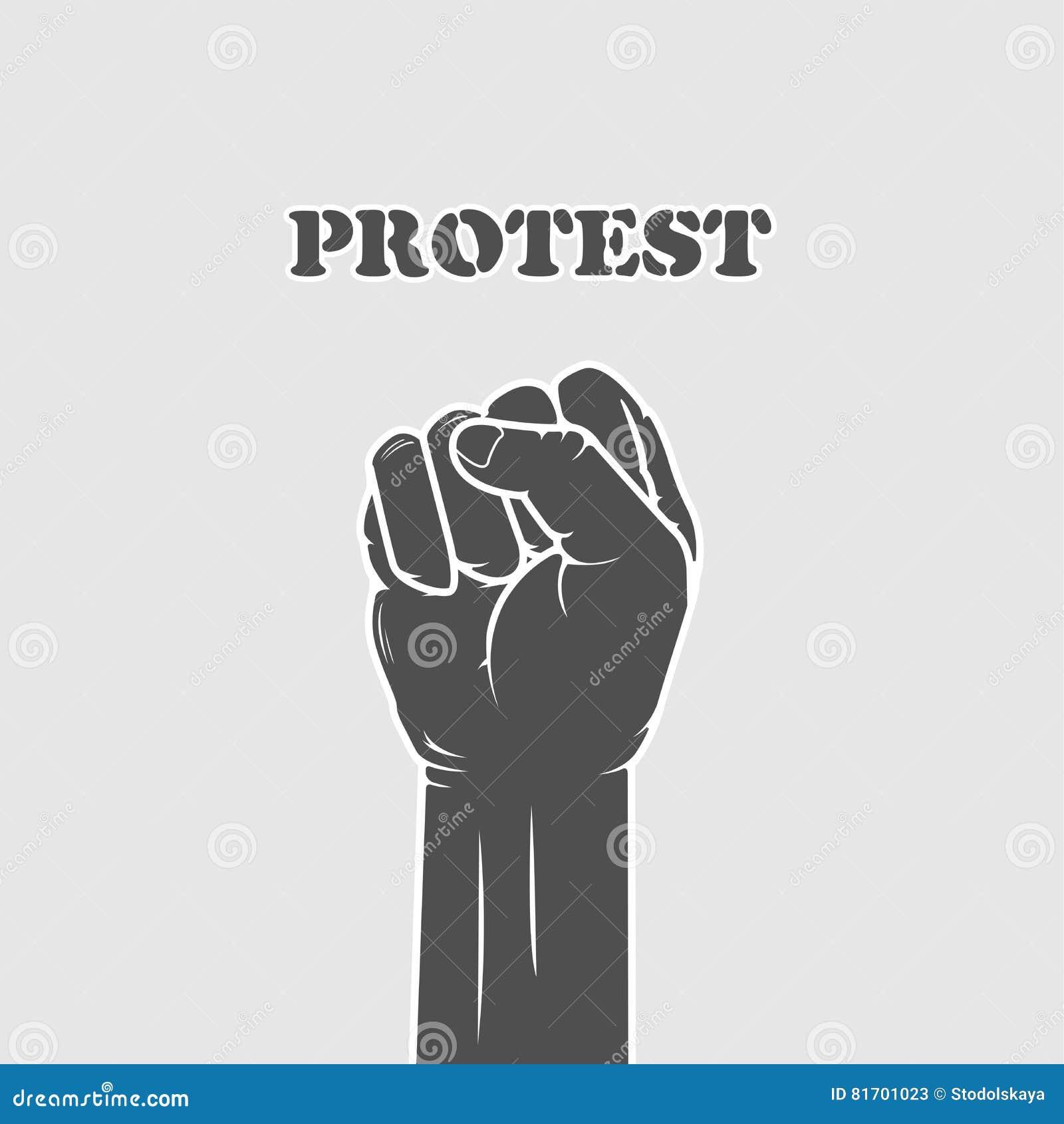 Punho rebitado - resistência e greve