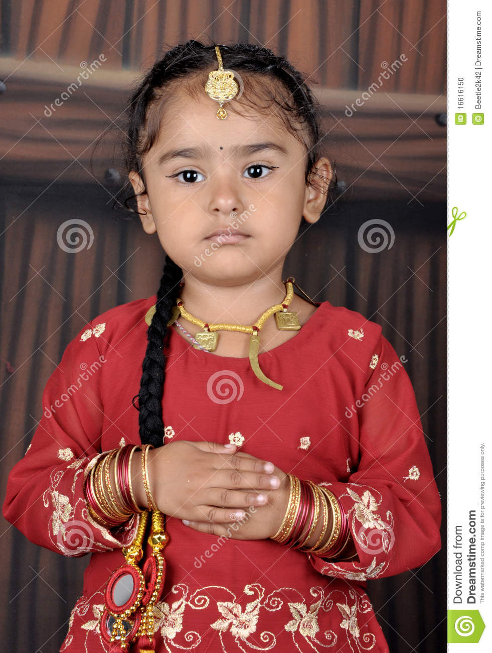 punjabi little child stock photo. image of jewelry, cute - 16616150