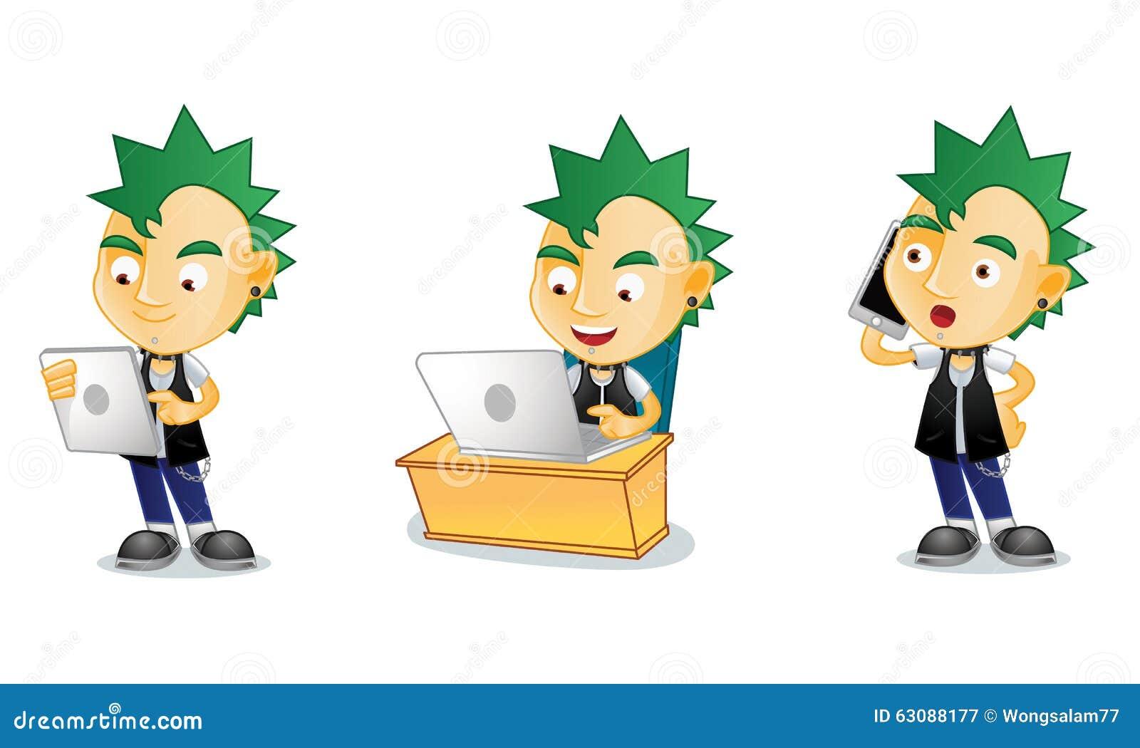 Download Punk 3 illustration de vecteur. Illustration du vecteur - 63088177