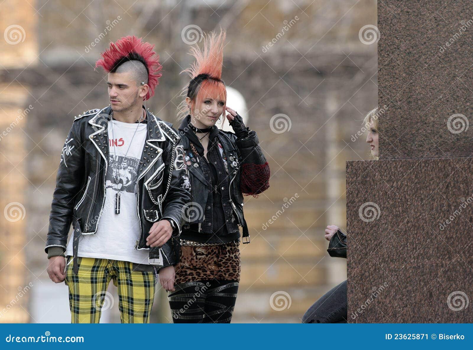 Punk Fashion Editorial Photo Image 23625871