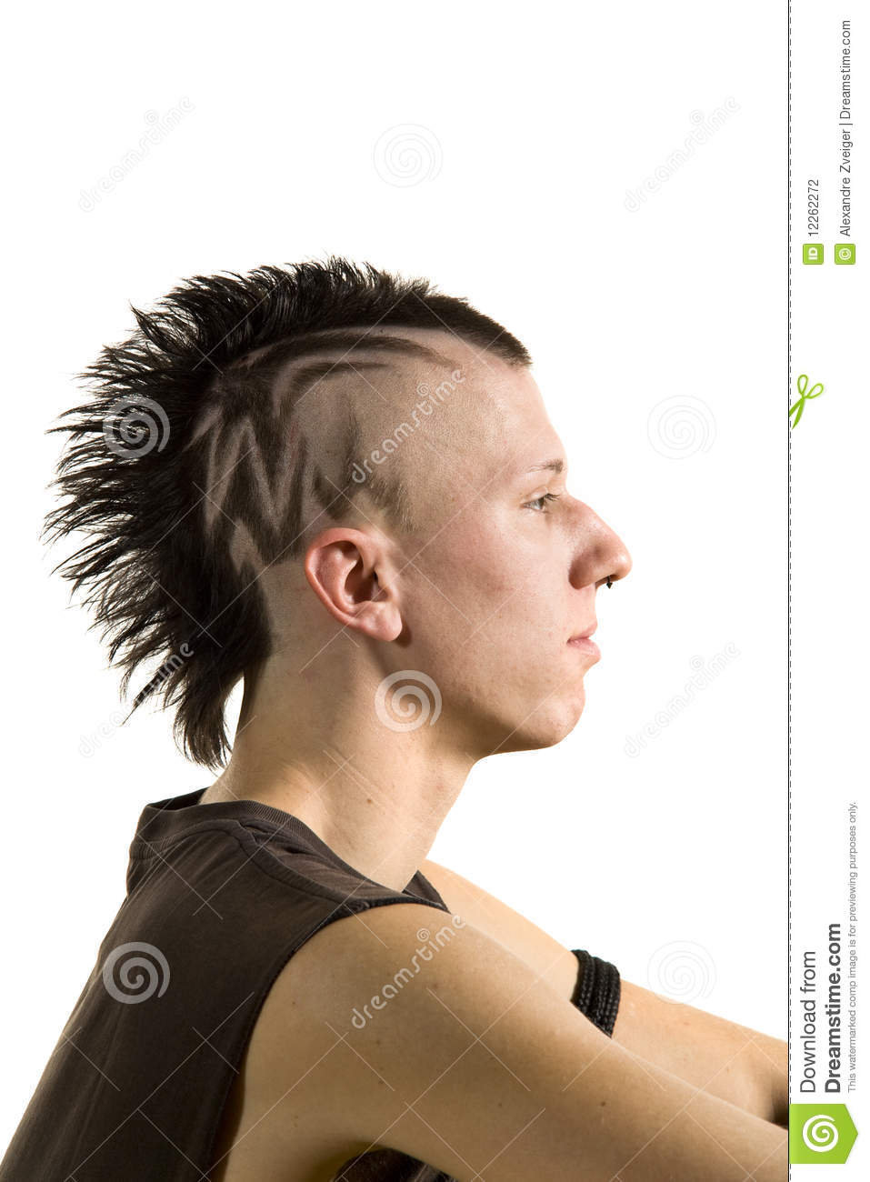Punk Fashion Boy Stock Photography Image 12262272