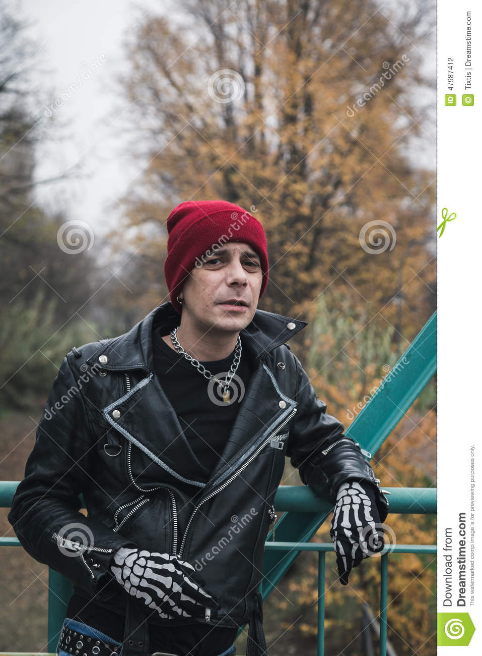 24f03e14223 Punk guy posing in the city streets stock photo image of cool jpg 957x1300 Punk  guy