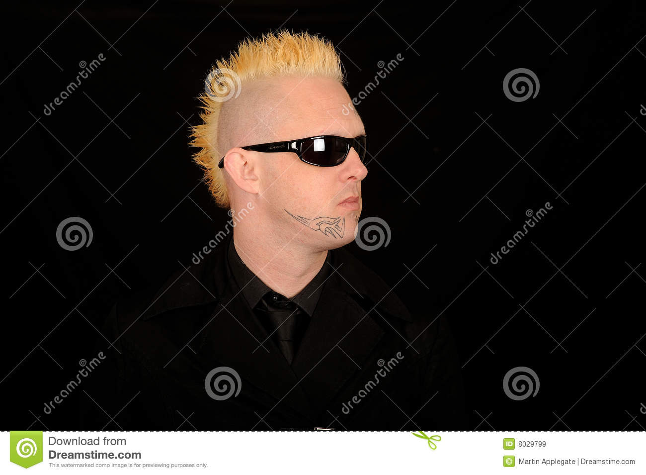 Men with Mohawk Punk
