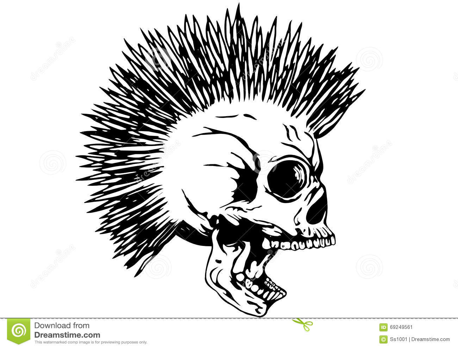 Mohawk Cartoons Illustrations Amp Vector Stock Images