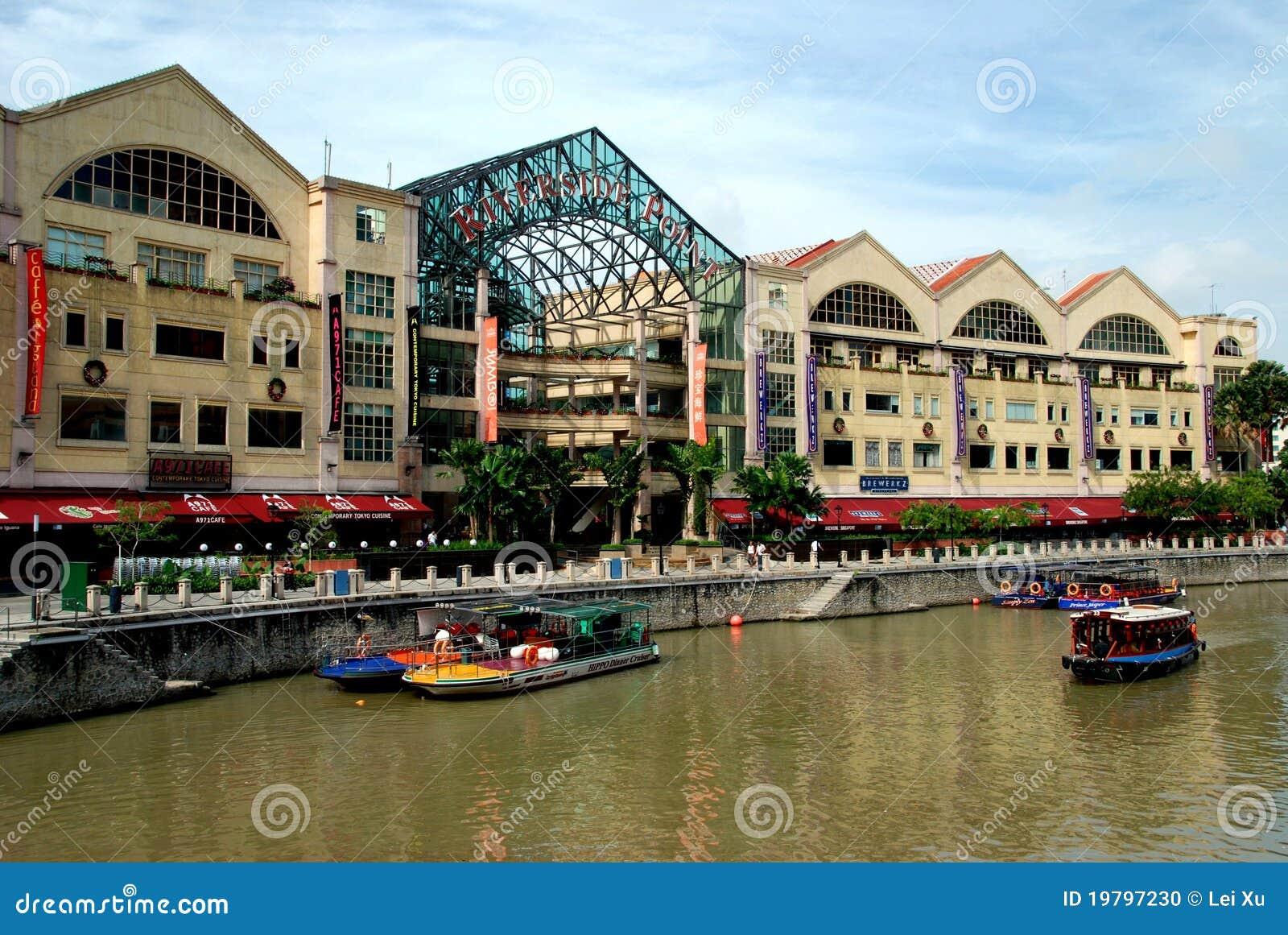 Punktåterställandeflodstrand singapore