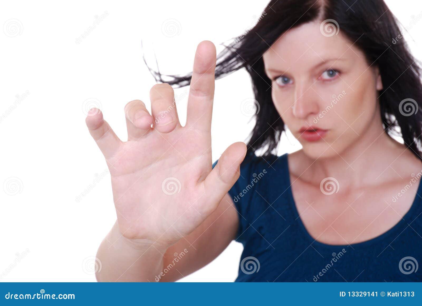 Punkt palcowa kobieta