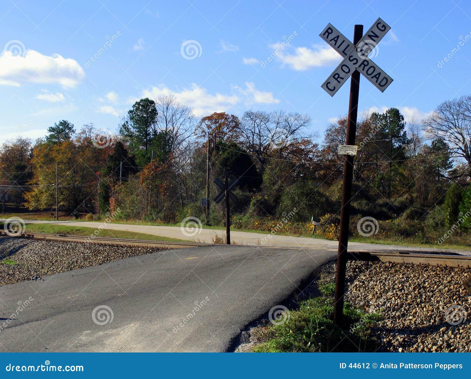 Punkt przecięcia linii kolejowej