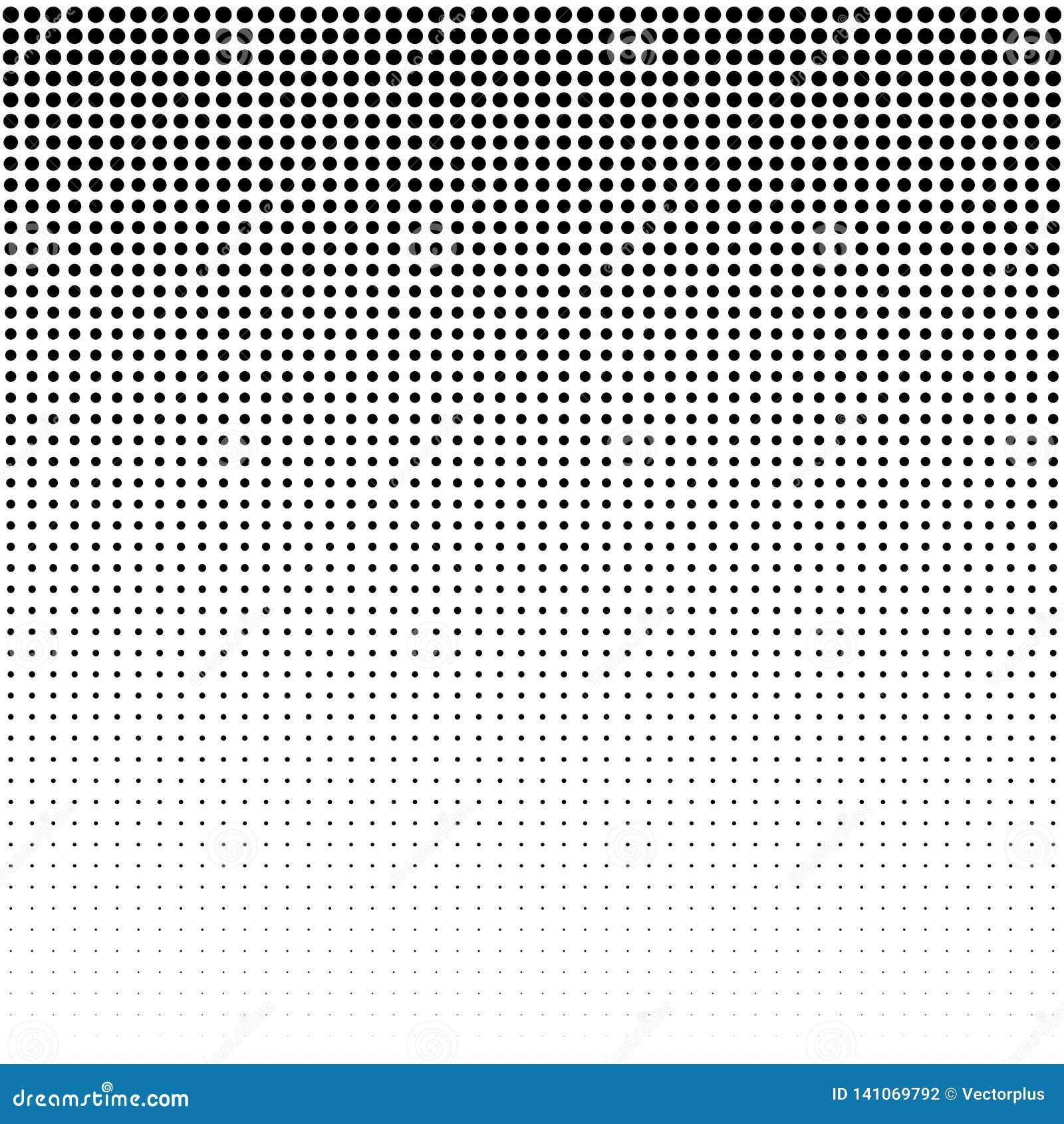 Punktiert Hintergrund Weinlese-modernes Muster Grunge abstrakter Hintergrund Pop-Arten-Beschaffenheit Vektor
