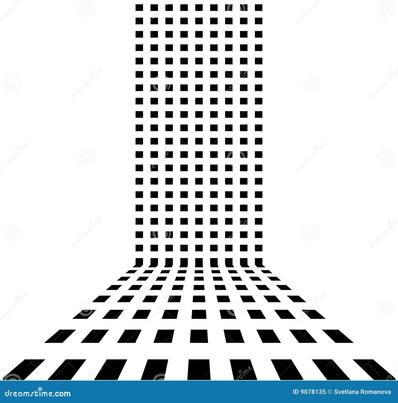 Punktierter Retro- abstrakter Hintergrund