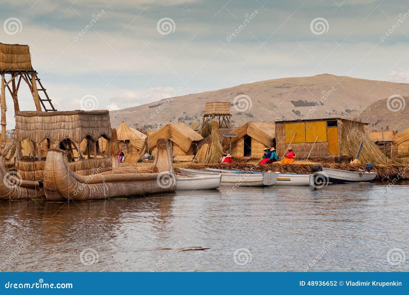 Puno, λίμνη Titicaca
