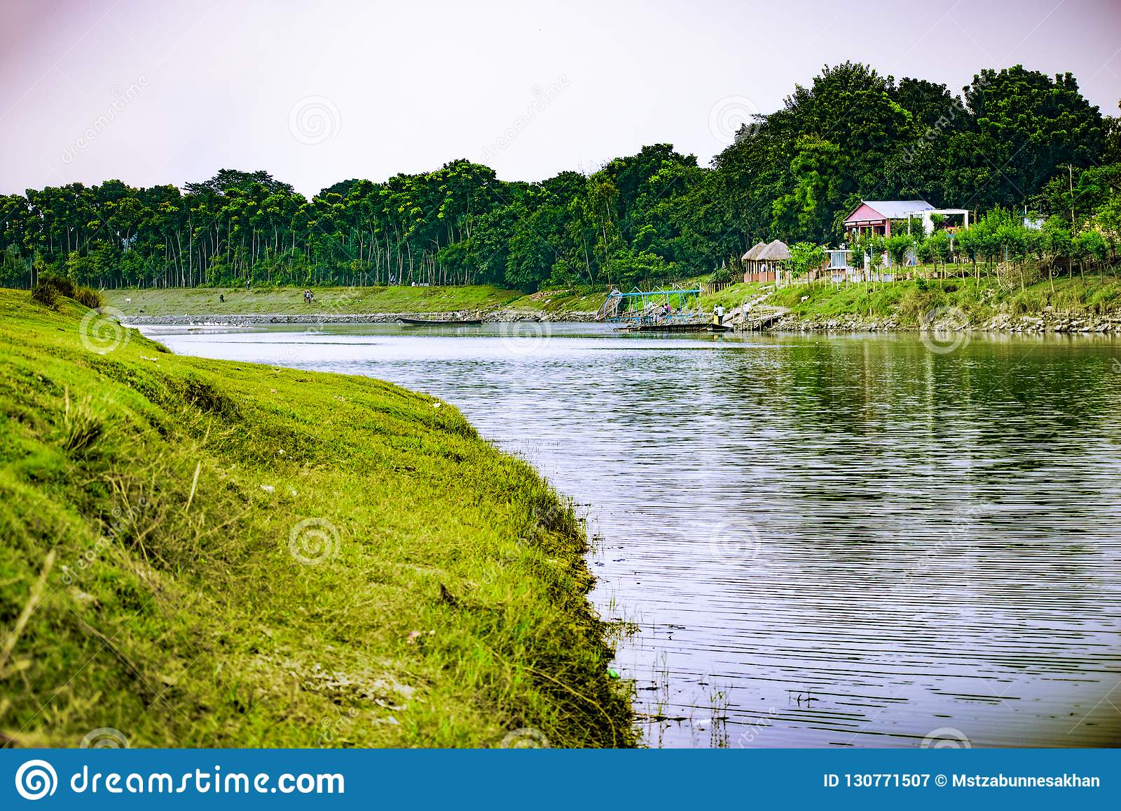 Punorvoba河,迪纳杰布尔,RÄ  jshÄ 喂,孟加拉国