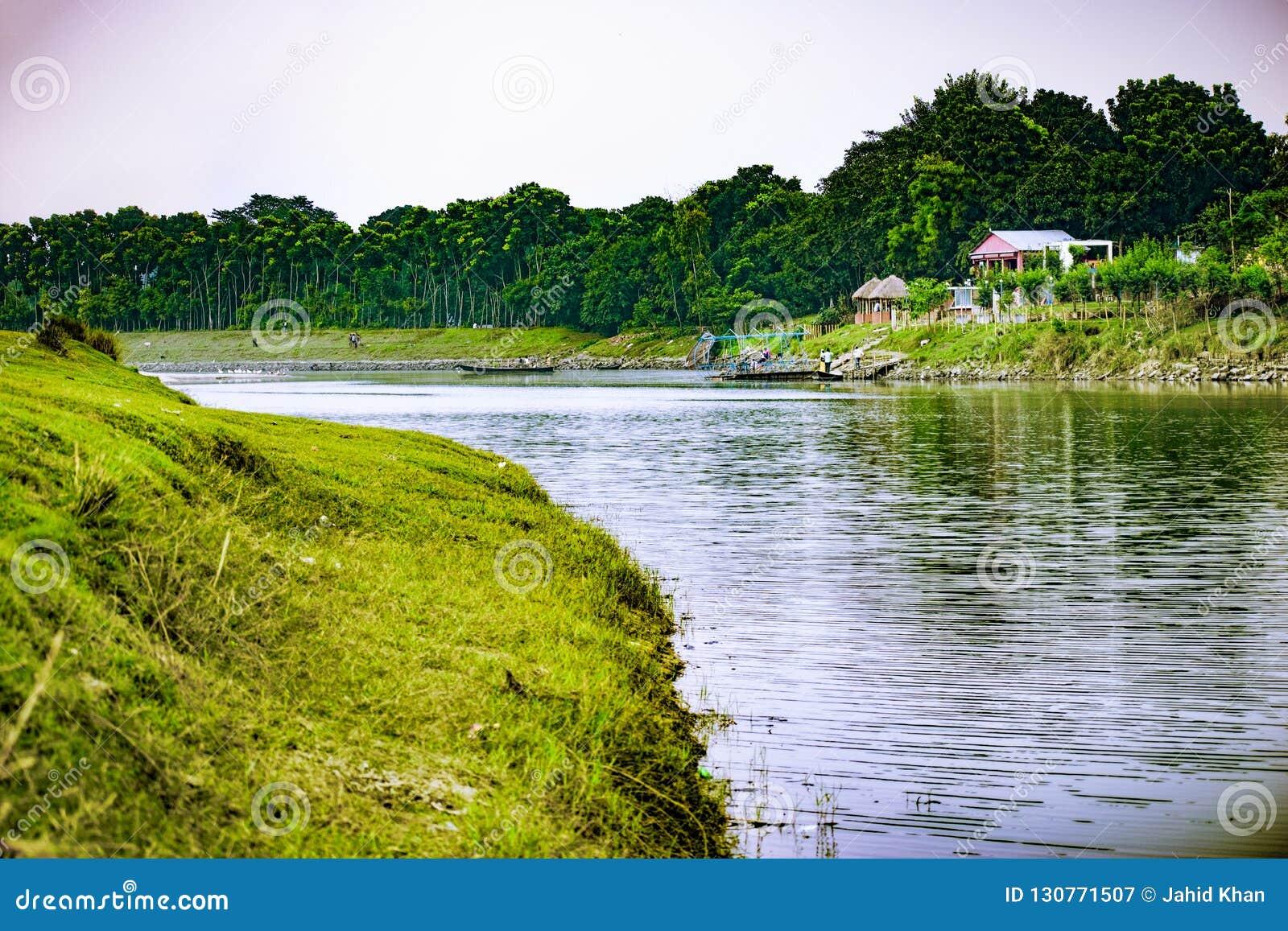 Punorvoba River, Dinajpur, Rājshāhi, Bangladesh.