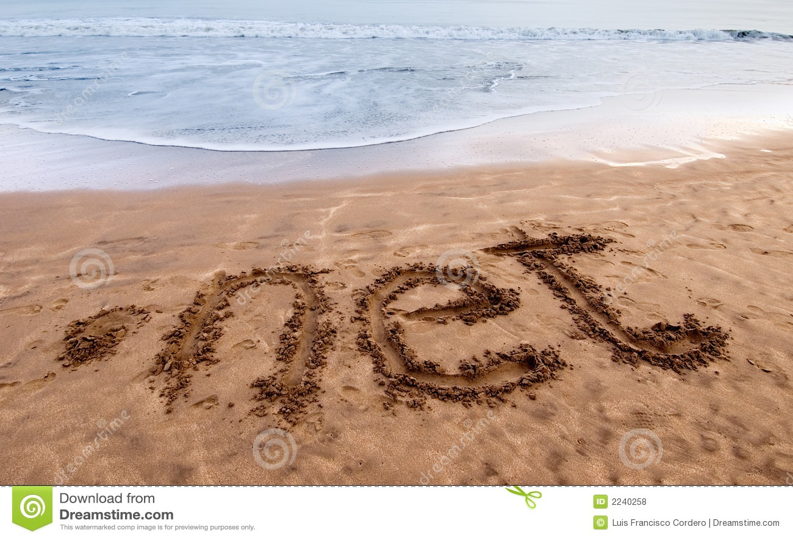 Punt netto op zand 2