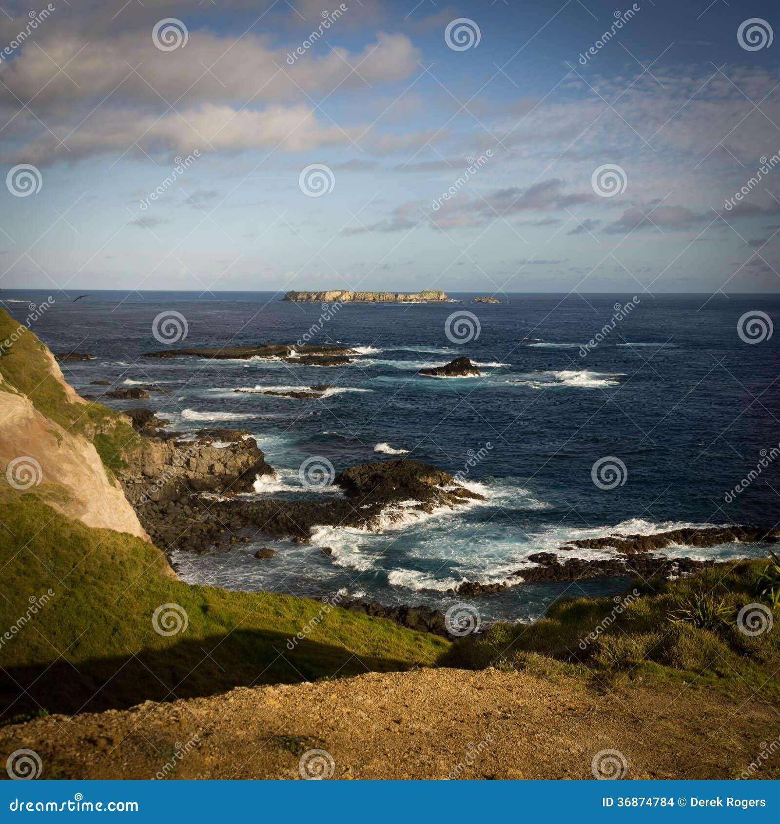 Punt Ross, het Eiland van Norfolk