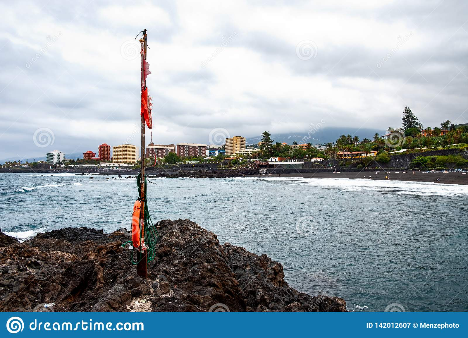 2019-03-12 Punta Brava - Puerto de la Cruz, Santa Cruz de Tenerife lilla staden på den atlantiska kusten