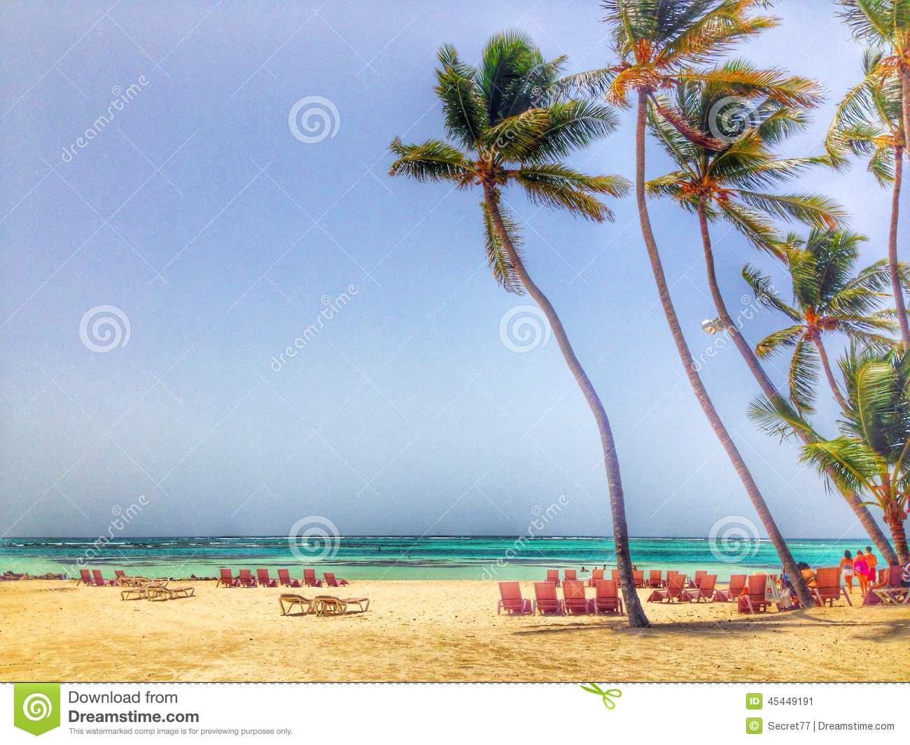 punta cana stock image image of cana republic dominican. Black Bedroom Furniture Sets. Home Design Ideas